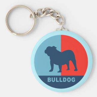 Bulldog US style keychain