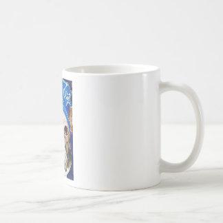 Bulldog Watercolor Dog Art Painting Classic White Coffee Mug