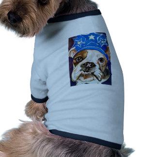 Bulldog Watercolor Dog Art Painting Dog T Shirt