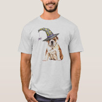Bulldog Witch T-Shirt