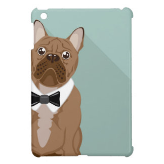 Bulldog with paw up cover for the iPad mini