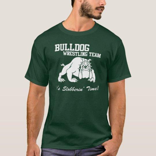 Bulldog Wrestling Team T-Shirt