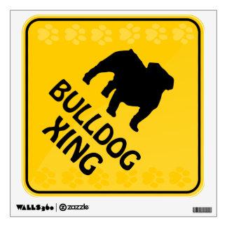 Bulldog Xing Room Graphic