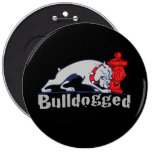 Bulldogged Pinback Buttons
