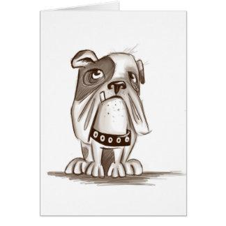Bulldoggie Card