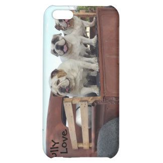 Bulldogs and Rat Rods Bully Love Case Case For iPhone 5C