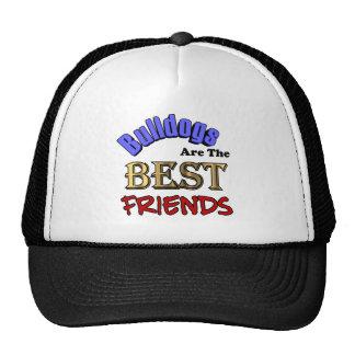 Bulldogs Are The Best Friends Trucker Hat