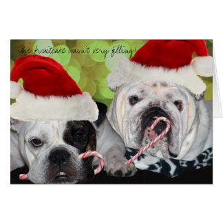 Bulldogs Stationery Note Card