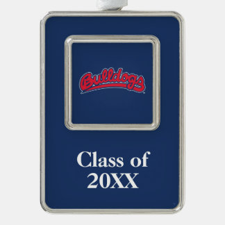Bulldogs Class Year Christmas Ornament