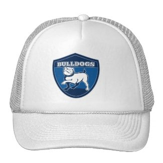 Bulldogs Emblem Logo Baseball Hat