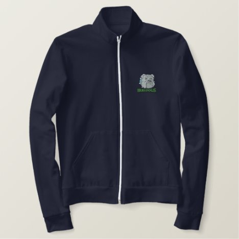 Bulldogs Embroidered Jacket