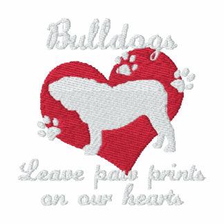 Bulldogs Leave Paw Prints Women's Hoody