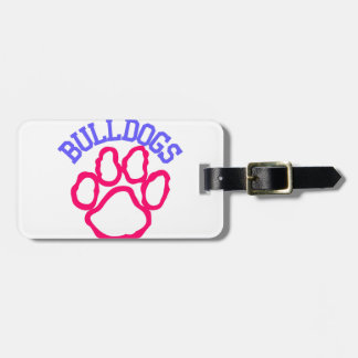 Bulldogs Travel Bag Tags