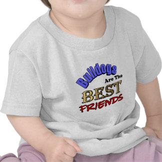 Bulldogs Make The Best Friends Tee Shirt