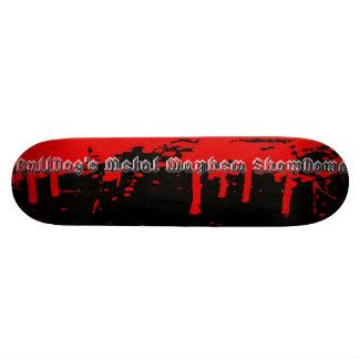 Bulldogs Metal Mayhem SkateBoard