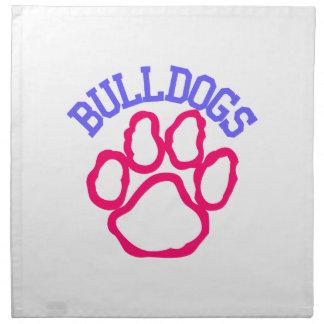 Bulldogs Napkin