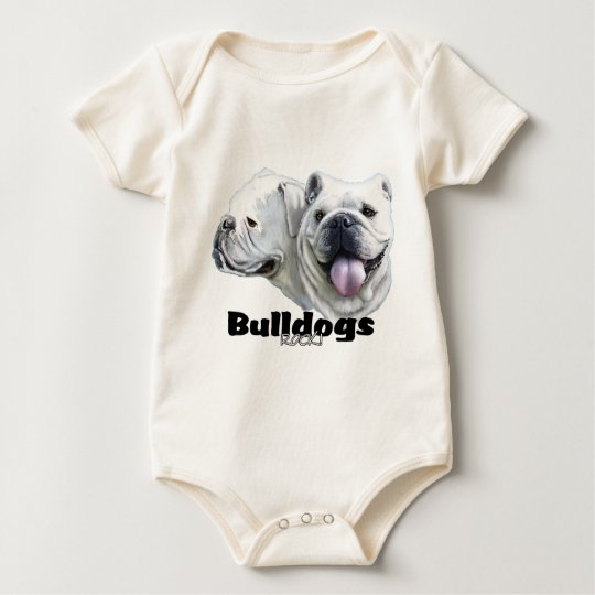 Bulldogs Rock Baby Bodysuit