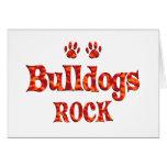 Bulldogs Rock Card