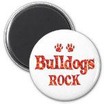 Bulldogs Rock Refrigerator Magnet
