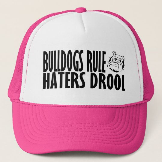 Bulldogs Rule Trucker Hat