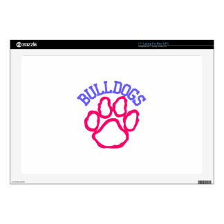 "Bulldogs Skin For 17"" Laptop"