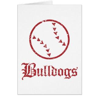 Bulldogs Softball Card