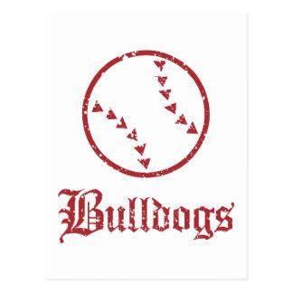 Bulldogs Softball Postcard