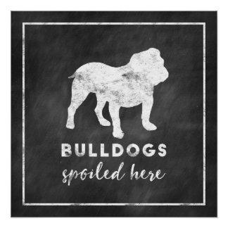 Bulldogs Spoiled Here Poster