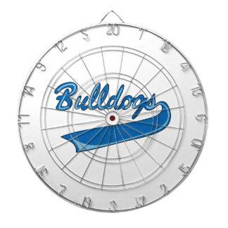 BULLDOGS SPORTS TEAM DART BOARD