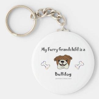 BulldogTan Llavero Personalizado