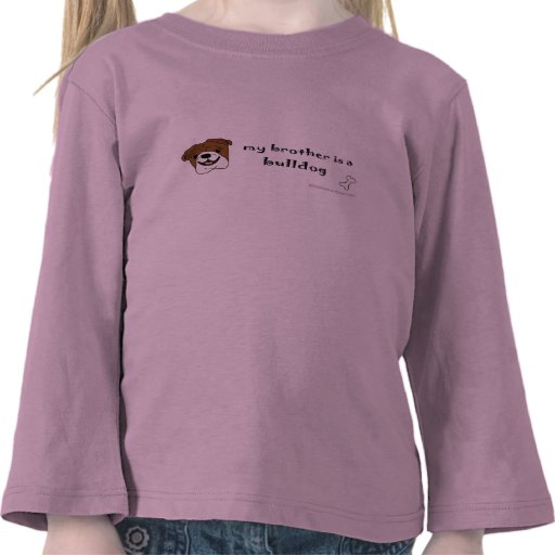 BulldogTanBrother T Shirts