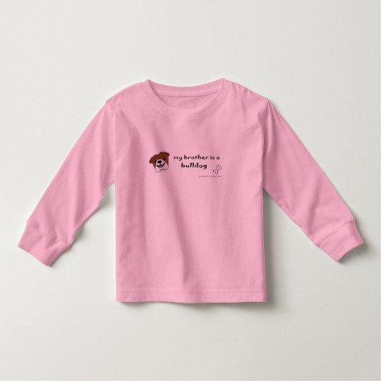 BulldogTanBrother Toddler T-shirt