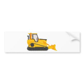 Bulldozer Construction Machine Bumper Sticker