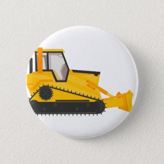 Bulldozer Construction Machine Button