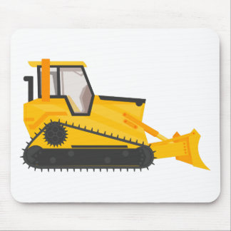 Bulldozer Construction Machine Mouse Pad