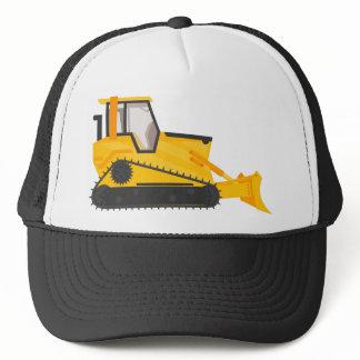 Bulldozer Construction Machine Trucker Hat