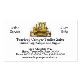 Bulldozer Dozer Business Card