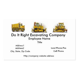 Bulldozer Dozer Business Cards