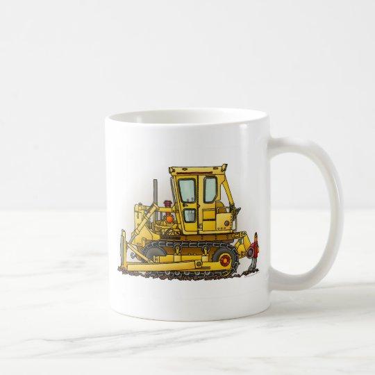 Bulldozer Dozer Coffee Mug