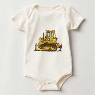 Bulldozer Dozer Infant Creeper