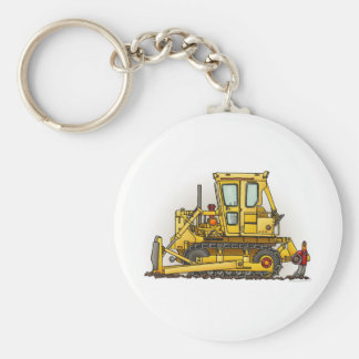Bulldozer Dozer Key Chain