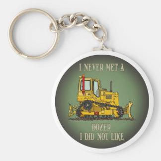 Bulldozer Dozer Operator Quote Key Chain