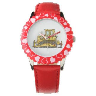Bulldozer Dozer Wristwatch