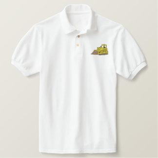 Bulldozer Embroidered Polo Shirt