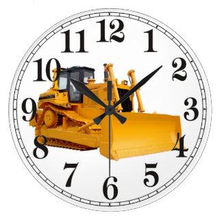 Bulldozer image for Wall Clock