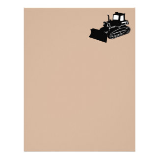 bulldozer letterhead