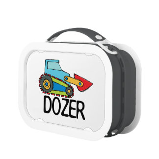 Bulldozer Lunch Box