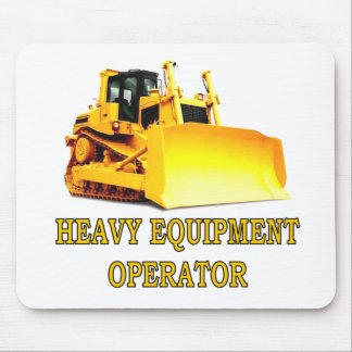 BULLDOZER MOUSE PAD