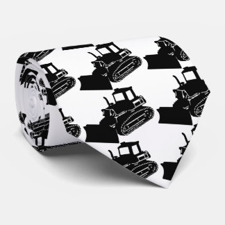 bulldozer neck tie