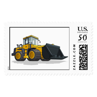 Bulldozer Postage
